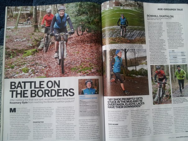 You can read this article in the March edition of 220 Triathlon!
