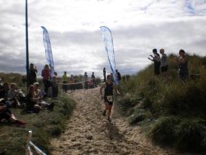 Finishing off the run