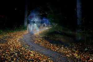Ghostly Hallocross riders: thanks to Addy Pope for the picture
