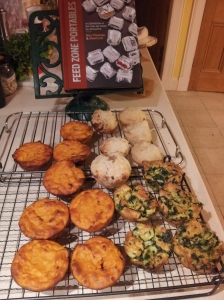 Feed Zone Portables, the result of a busy evening in the kitchen
