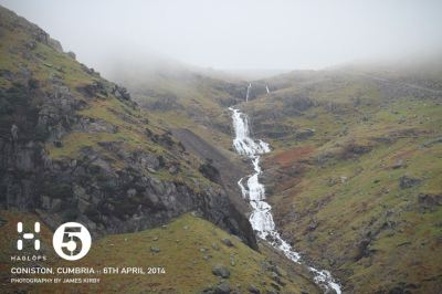 Lake District rain = impressive waterfalls