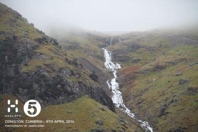 Lake District rain = impressive waterfalls
