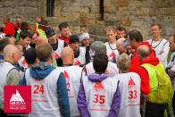 Briefing at Caernarfon castle