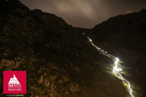 Lights in Snowdonia