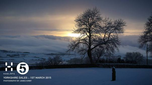 The Yorkshire Dales - scenic and snowy