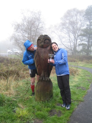 Me, Andy and the owl