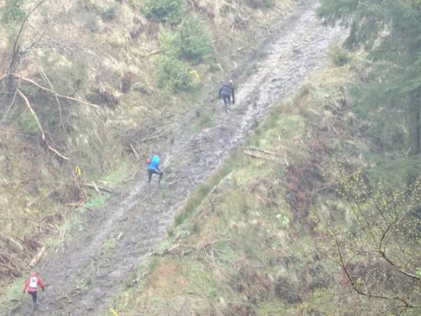 Apparently we ran up this - though I don't really remember it! (Photo: Andy Petford)