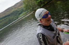 End of the last swim, something to be happy about! Photo Andy Kirkland