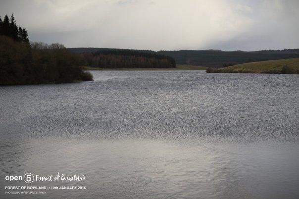 We ran round the reservoir