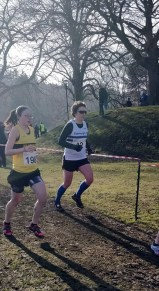 Falkirk XC, working hard