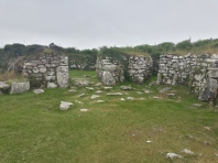 Bijou residence, only 2000 years old (courtyard house, Chysauster)