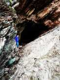 Can't resist poking my nose in a cave ...