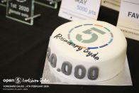 Ooo 20,000 point cake